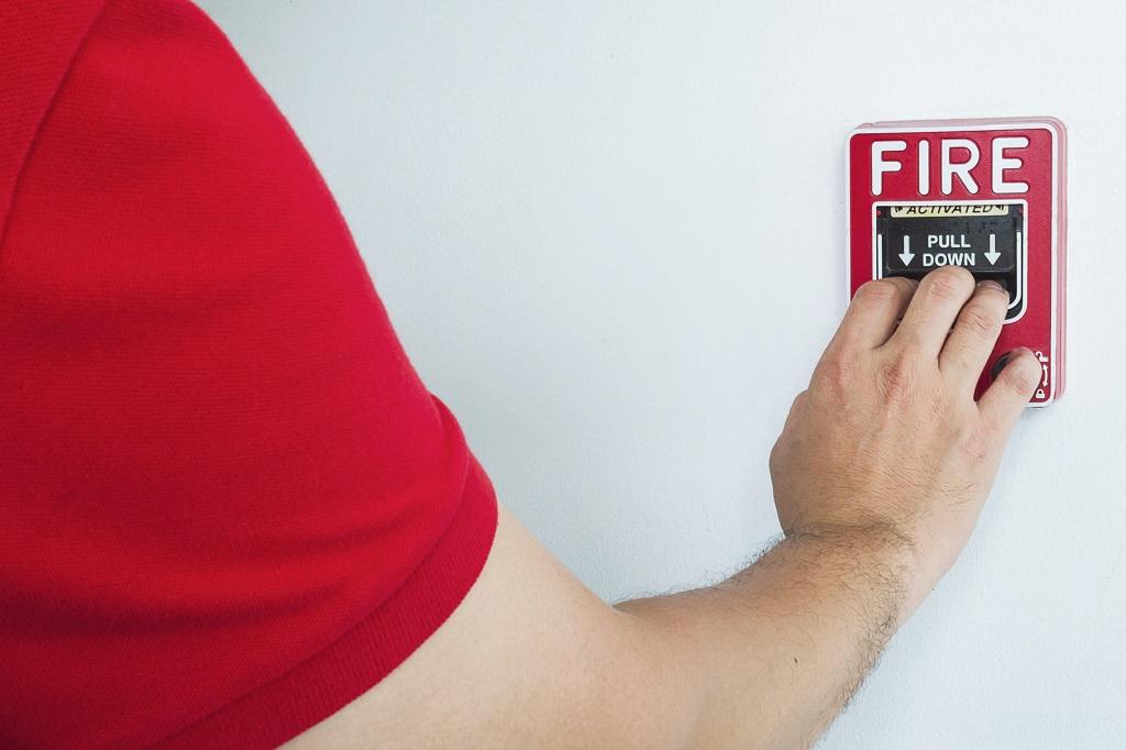 protección contra incendios en casetas de madera